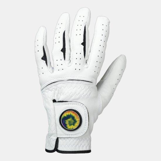 Tie-Dye Spiral - Golf Glove