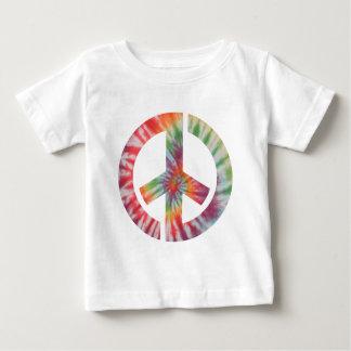 Tie-Dye Stencil Peace Baby T-Shirt
