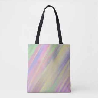 Tie Dye Style Multi Color Blended Background Tote Bag