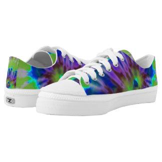tie-dye swirl Low-Top sneakers