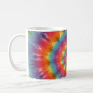 Tie Dye Swirl Mug mug