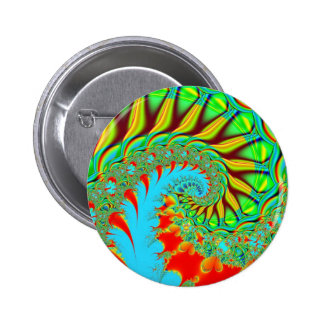 Tie Dye Swirl Pinback Button