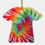Tie Dye T-Shirt Ornament