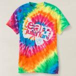 Tie-dye Team Julia Lani!!! T-shirt at Zazzle