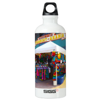 Tie Dye Tent City Market Steamboat Arabia KC Aluminum Water Bottle
