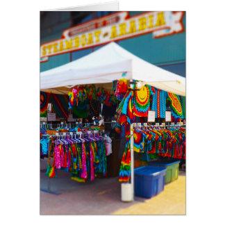 Tie Dye Tent City Market Steamboat Arabia KC Card