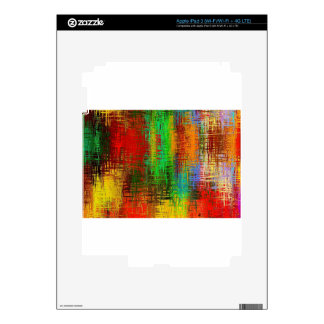 tie-dye texture iPad 3 skin