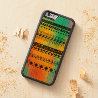 Tie-Dye Tribal Pattern Carved® Cherry iPhone 6 Bumper