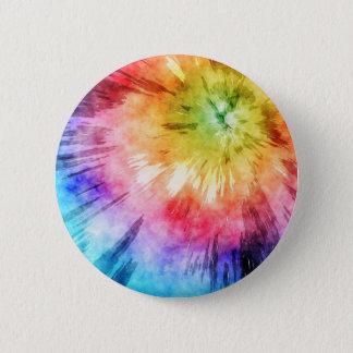Tie Dye Watercolor Button