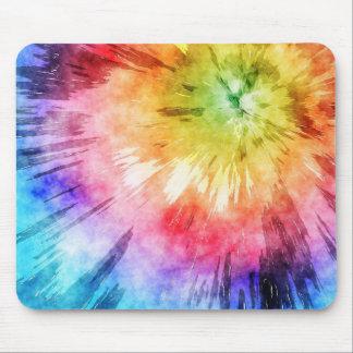 Tie Dye Watercolor Mouse Pad