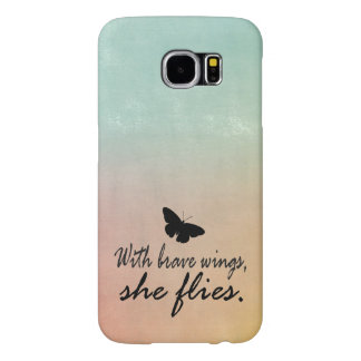 Tie Dye Watercolor with Quote Samsung Galaxy S6 Case