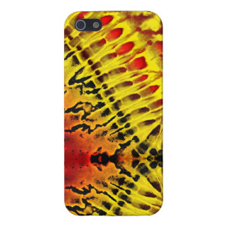 Tie Dye Yellow Red iPhone SE/5/5s Cover