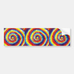 Tie-Dyed Bumper Stickers