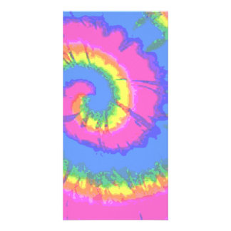 Tie-Dyed Card