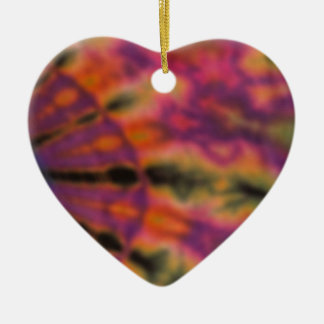 Tie Dyed Changed the World Ceramic Ornament