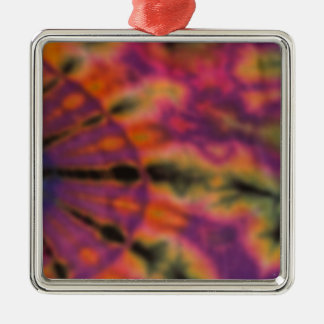 Tie Dyed Changed the World Metal Ornament