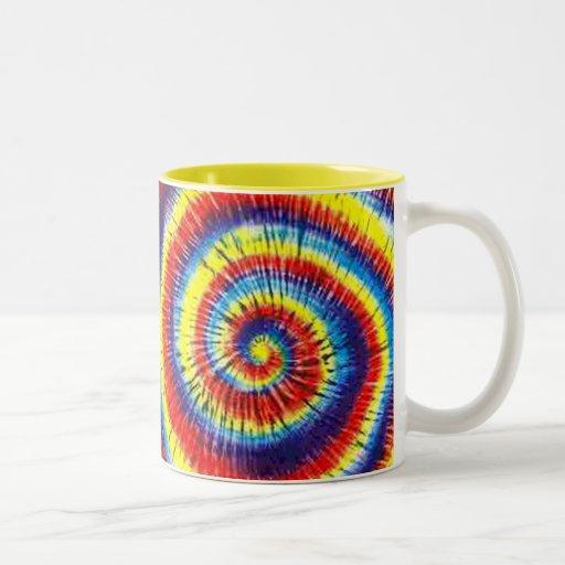 Tie-Dyed Coffee Mug