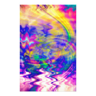 Tie Dyed Designs Stationery
