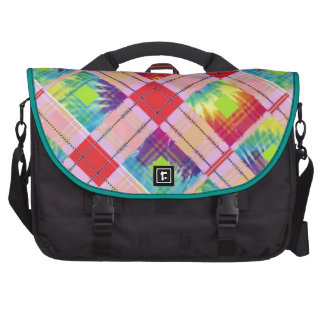 Tie dyed expression computer bag