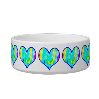 Tie Dyed Heart Bowl