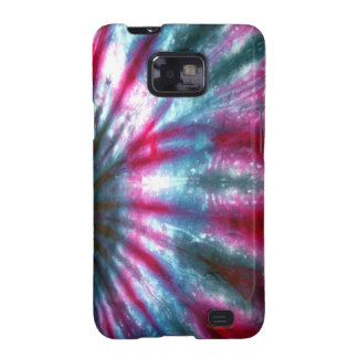 Tie Dyed Multicolor Fabric Texture Android Case Galaxy S2 Cases