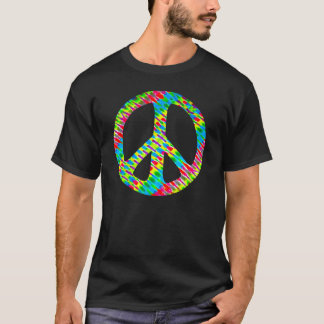 "Tie-Dyed ""Peace"" T-Shirt"