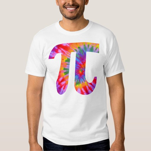 Tie Dyed Pi Shirt