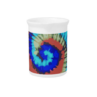 Tie Dyed Pitchers