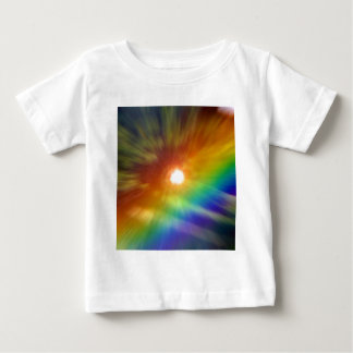 Tie Dyed Rainbow Baby T-Shirt