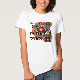Tie-Dyed Sheep T Shirt