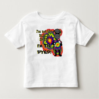 Tie-Dyed Sheep Toddler T-shirt