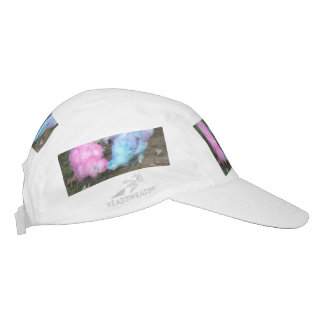 Tie Dyed Silkie Chickens in Pastel Easter Colors Headsweats Hat