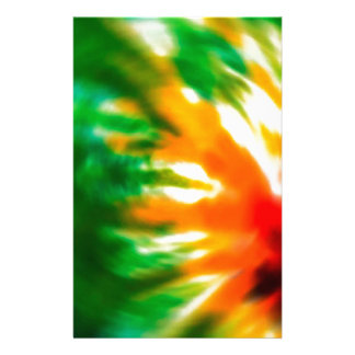 Tie Dyed Stationery