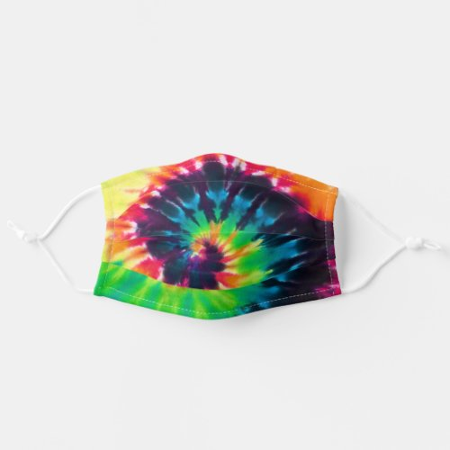 Tie Dyed Swirl Adult Cloth Face Mask
