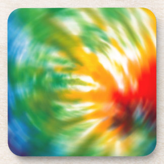 Tie Dyed Time Coaster