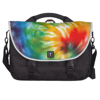 Tie Dyed Time Computer Bag