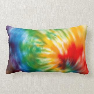 Tie Dyed Time Lumbar Pillow