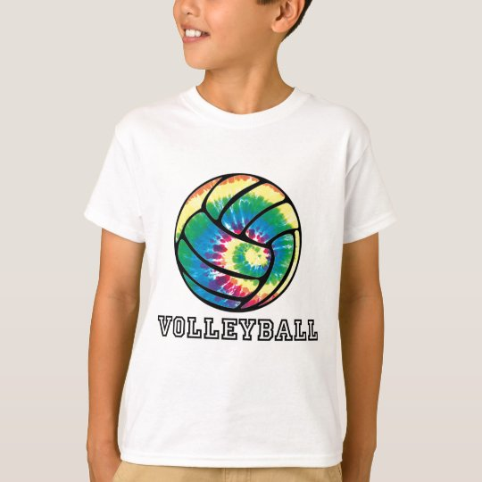 Tie-Dyed Volleyball T-Shirt