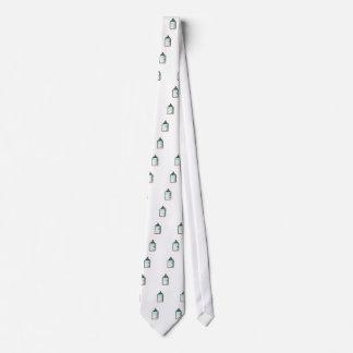 Tie for men with milk bottles