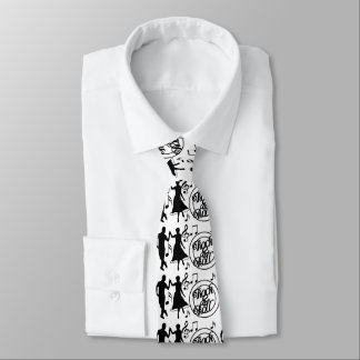 "TIE FOR YOUR MAN WHO LOVES ""ROCK AND ROLL""/DANCING"