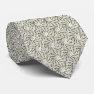 Tie - Green Spiral in Crochet