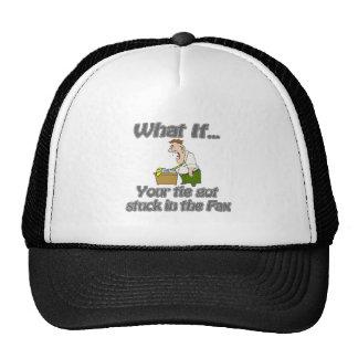 Tie in the Fax Trucker Hat