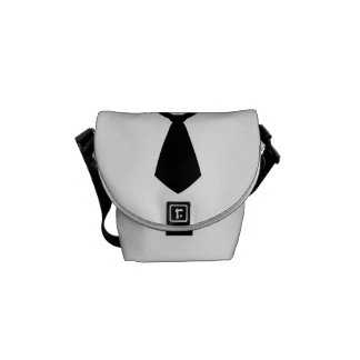 Tie Messenger Bag