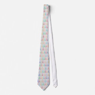 tie of Eiffel Towers color pattern