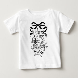 tie picture reading infant t-shirt