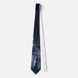 Tie 'Purple Feathers'