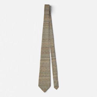 Tie: Straw Mat Neck Tie