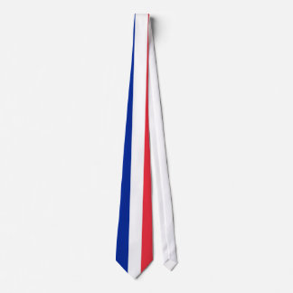 Tie with Flag of France