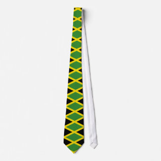 Tie with Flag of Jamaica