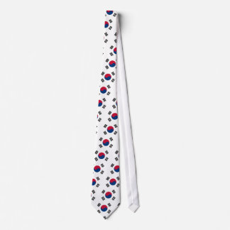 Tie with Flag of South Korea